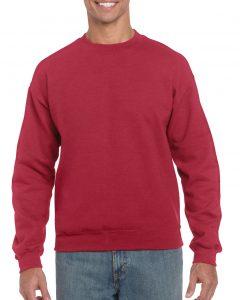 18000-Adult-Crewneck-Sweatshirt-Antique-Cherry-Red