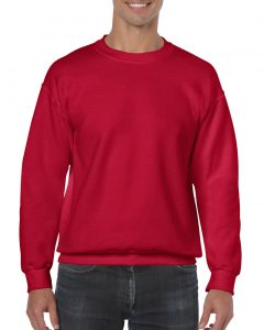 18000-Adult-Crewneck-Sweatshirt-Cherry-Red