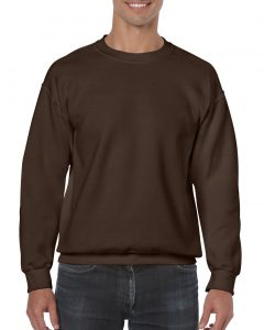18000-Adult-Crewneck-Sweatshirt-Dark-Chocolate