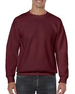 18000-Adult-Crewneck-Sweatshirt-Maroon