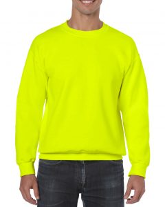 18000-Adult-Crewneck-Sweatshirt-Safety-Green