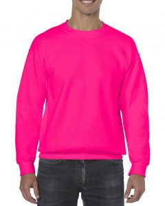 18000-Adult-Crewneck-Sweatshirt-Safety-Pink