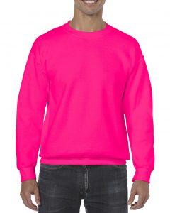 18000-Adult-Crewneck-Sweatshirt-Safety-Pink