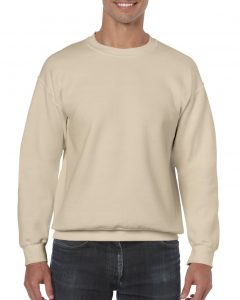 18000-Adult-Crewneck-Sweatshirt-Sand