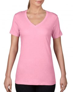392-Womens-Featherweight-V-Neck-Tee-CharityPink