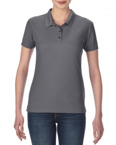 45800L-Ladies-Double-Piqu-Sport-Shirt-Charcoal