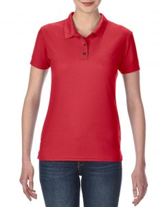 45800L-Ladies-Double-Piqu-Sport-Shirt-Red