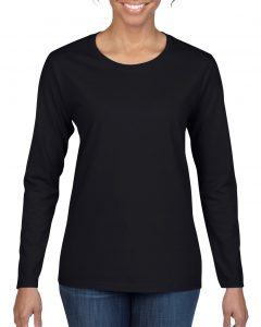 5400L-Ladies-Long-Sleeve-T-Shirt-Black