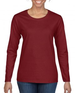 5400L-Ladies-Long-Sleeve-T-Shirt-Garnet