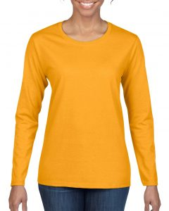 5400L-Ladies-Long-Sleeve-T-Shirt-Gold