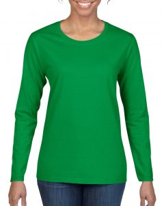5400L-Ladies-Long-Sleeve-T-Shirt-Irish-Green