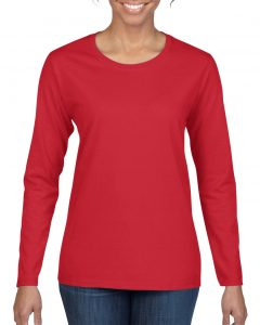 5400L-Ladies-Long-Sleeve-T-Shirt-Red
