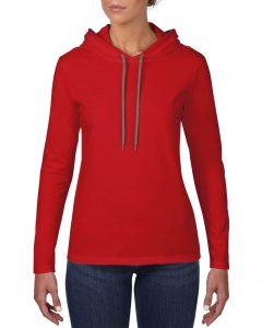887L-Womens-Lightweight-Long-Sleeve-Hooded-Tee-Red